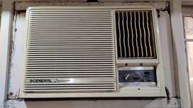 O General Window AC working condition 1 ton 1
