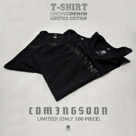 Tshirt Exclusive Limited Edition Crows Denim