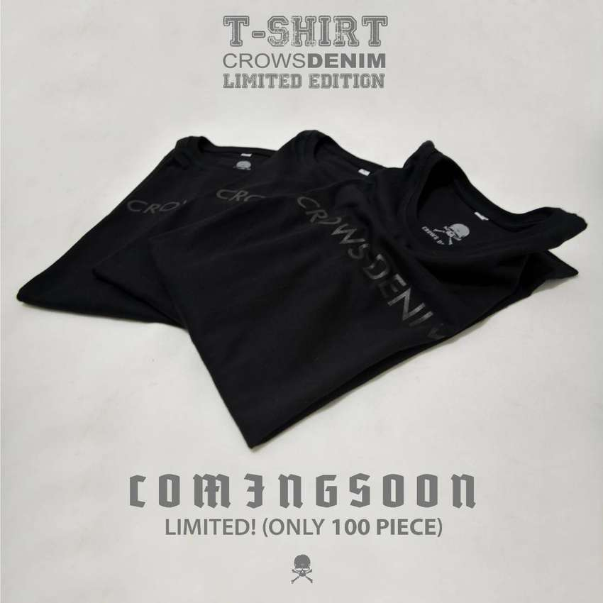 Tshirt Exclusive Limited Edition Crows Denim 0