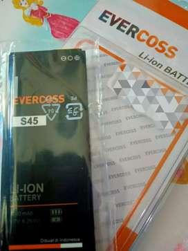 Baterai Evercoss S45 100%