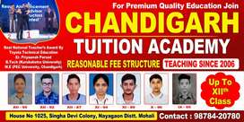 Tuition upto XIIth Standard
