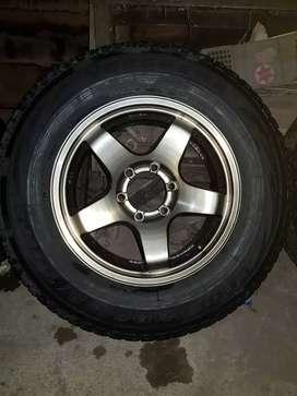 Velg Lenso ring 17  r17 Pajero Fortuner Hilux Triton Ford Ranger