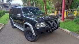 Ford Everest 4X4 XLT 2005 TDI MT turbo diesel, tinggal gas!