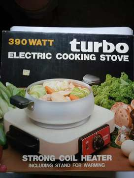 Turbo Electric cooking stove, strong coil heater, kompor listrik