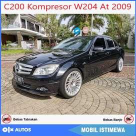Mercedes Benz C200 W204 AT 2009 Orisinil Bisa Kredit