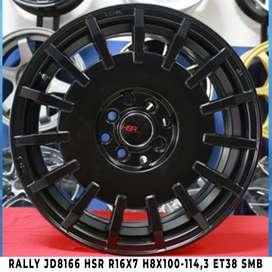 Velg Dewata RALLY JD8166 HSR R16X7 H8X100-114,3 ET38 SMB
