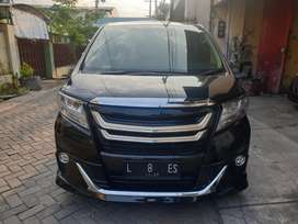 New Toyota Alphard G 2.5 AT 2015 Transformer Odometer 12ribu wrn Hitam