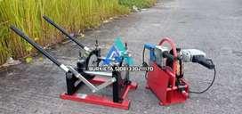 Agen mesin las pipa hdpe manual 2 inch