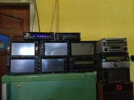Audio TV mobil rusak Kalu ada tawarkelah cocok barang dan harga.angkut