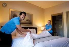 Housekeeping boys in five star hotel