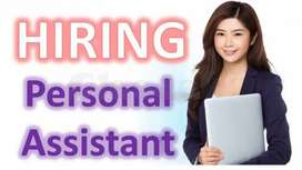 Need Female Personal Assistant/Secretary +2 Pass Apply Who have idea