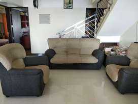 3 +1+1 seater sofa set for sale.