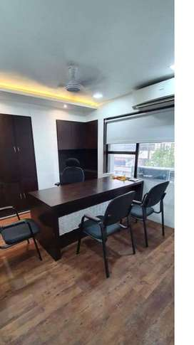 commercial furnished office available on rent new palasiya indore.