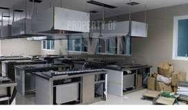 pembuatan pemasangan cerobong asap dapur hood ducting stainless Kebume