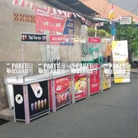 #Booth Jualan Makanan / Booth Portable-Meja Lipat; #bawang goreng