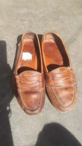 Pure leather shoes