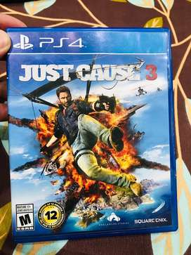 PS4 (JUST CAUSE 3)
