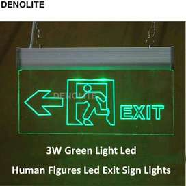 Lampu exit & emergency LED