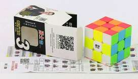 Rubik 3x3 Qiyi Warrior W Speed Cube 3x3 Stickerless Bright