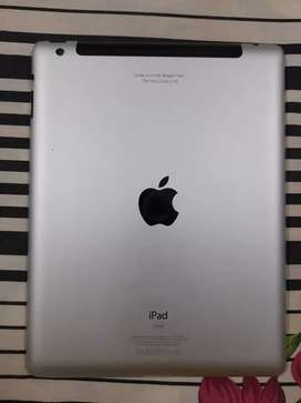 IPAD USED BUT IN GOOD CONDITION