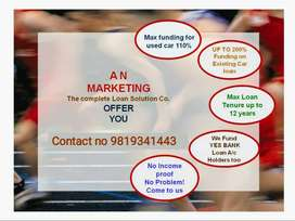 A N Marketing. Complete car loan solutions