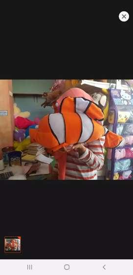 Ready stock boneka ikan nemo jumbo xl 40cm murah