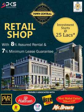 Shop for sale In PKS Town Central Noida Extension