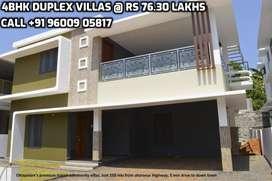 Sreekrishnapuram , Independent Houses @ Rs 76.30 Lakhs in Ottapalam