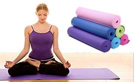 "Yoga Mat Soft, Non-Slip, Light Weight, Durable, Washable  24"" X 68"""