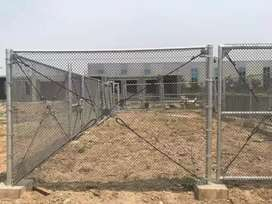 Campaign fencing with Chainlink sequrity Fencing