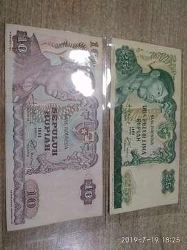Uang lawas original.
