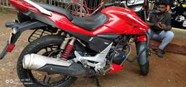 Hero Extreme Sportz, 2015 last model, single use, no accident history,