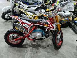 Motor Mini Trail 4Tak 50cc Automatic Trail 4Tak Dobel starter 50cc AT