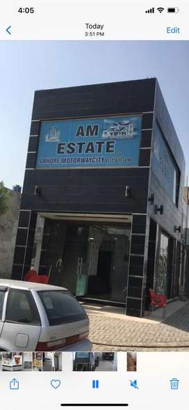 2 marla plaza for sale in lahore