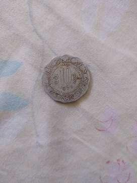 Rare 10 paisa coin