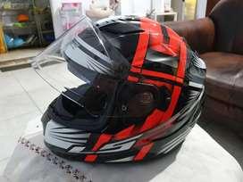 Jual Helm LS2 FF320 Stream Bang Black Red