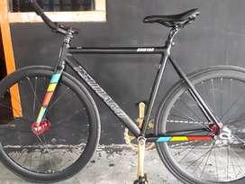 FRAMESET TSUNAMI SNM100 BLACK Sz 52