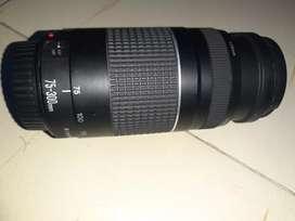 Canon EF 75 - 300 mm f/4-5.6 III Lens