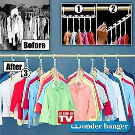 PROMO - Magic Hanger/Wonder Hanger / Hanger Ajaib gantungan baju ajaib