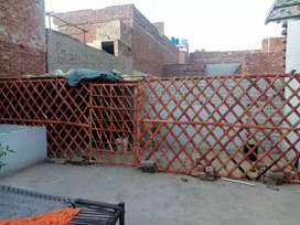 Bamboo cage for goats