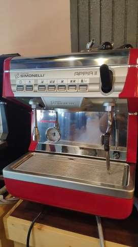 Mesin kopi espresso simonelli appia 2 v 1 group