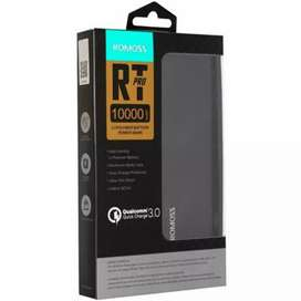 Romoss RT 10 pro power bank 10000 mah Qualcomm 3.0 fast charging