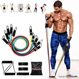 Resistance Bands, Exercise Workout BandsBurn than fat and watch your