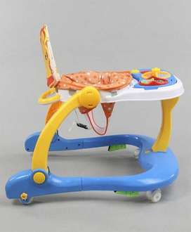 Selling a baby walker. Got it from FirstCry. 5-15 months. (Blue)
