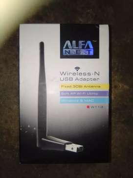 Wireless adapter for pc