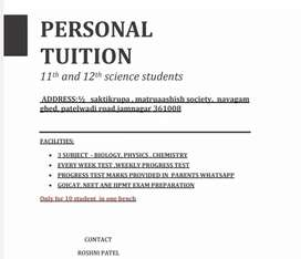 Personal classes