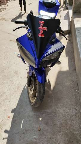 R15 sport bike new bettry