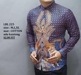 Batik slimfit mewah kekinian keren motif elegan stok terbatask