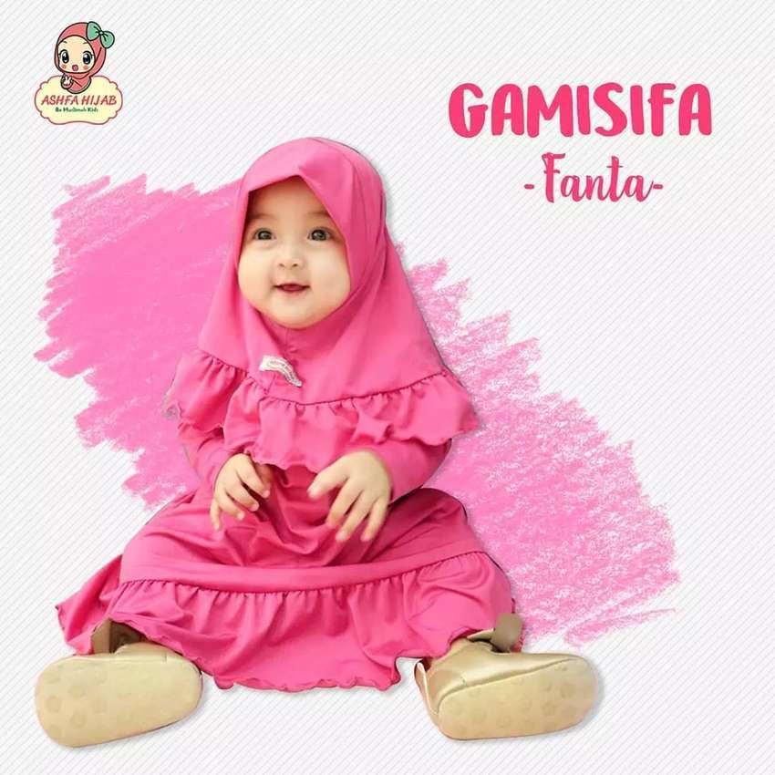 "Gamis Anak ""Gamisifa"" By Ashfa Hijab 0"