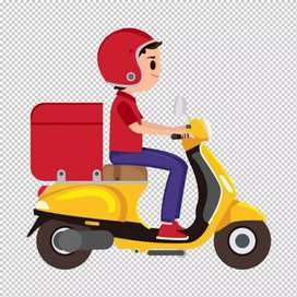 Home delivery  boy job in ghaziabad fresher can also apply